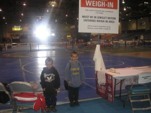 Carlos and Giovani at the Cliff Keen Worlds in Reno.